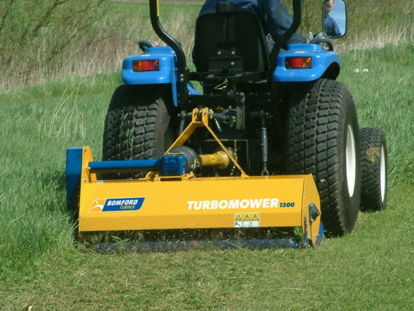 Mulčovač Bomford Turner Turbo Mower