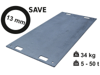 Pojezdová deska SAVE 13 mm