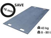 Pojezdová deska SAVE 16 mm