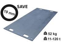 Pojezdová deska SAVE 19 mm